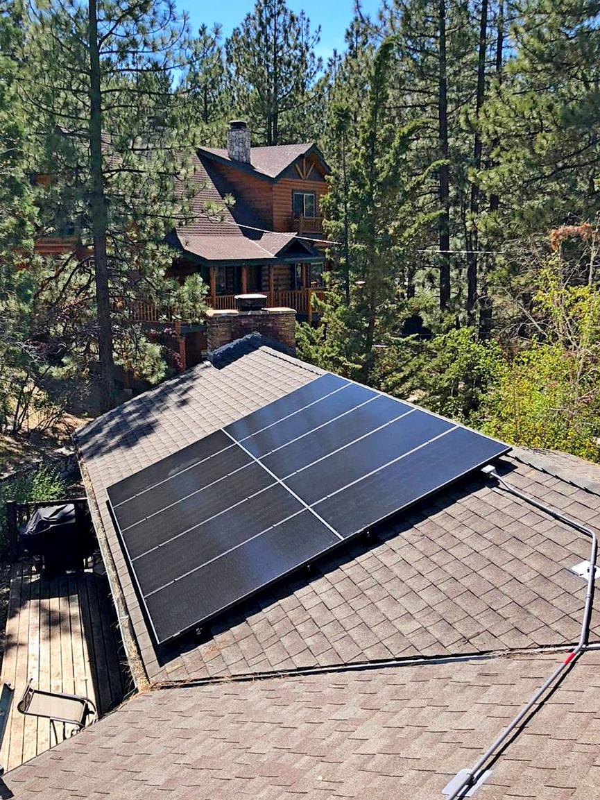 Solar Panel System Installation in Big Bear Lake