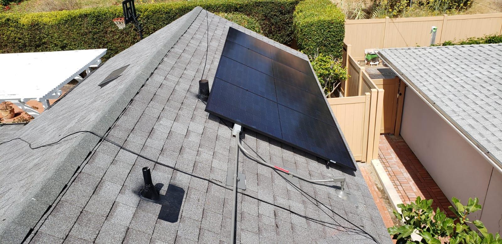 Solar Panel System Installation in La Jolla