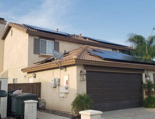 Solar Panel System Installation in Hemet