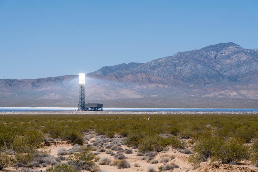 Ivanpah Power Facility in California